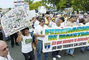 La FMPR esta dando la pelea para defender los derechos de los maestros