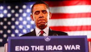 El candidato democrata, Barak Obama, ha elevado las espectativas acerca del fin de la guerra