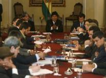 Evo Morales lleva todo el año intentando negociar