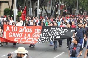 Los estudiantes de la UNAM demostraron que cuando luchamos, ganamos.