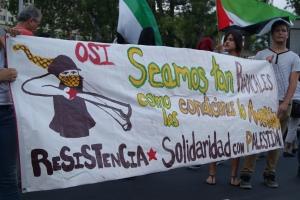 """La OSI recalcó la importancia de resistencia del pueblo Palestino - """"Seamos tan Radicales como las Condiciones lo Ameriten"""""""