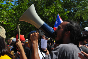 Omar Iloy, miembro de la OSI- Foto: Ricardo Ríos